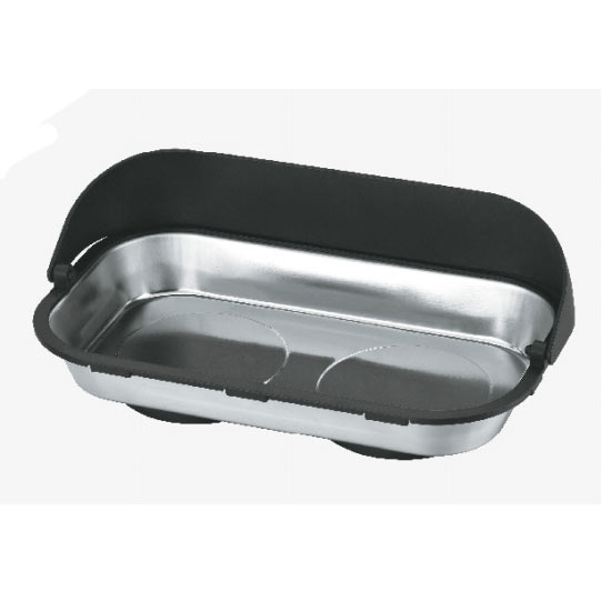 Steel Magnetic Tray With Hood