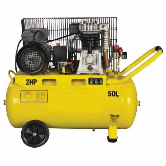 Single-stage Air-cool Movable Air Compressor