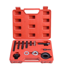 12pcs Pulley Puller And Installer Steering System Engine Tool Kit Set