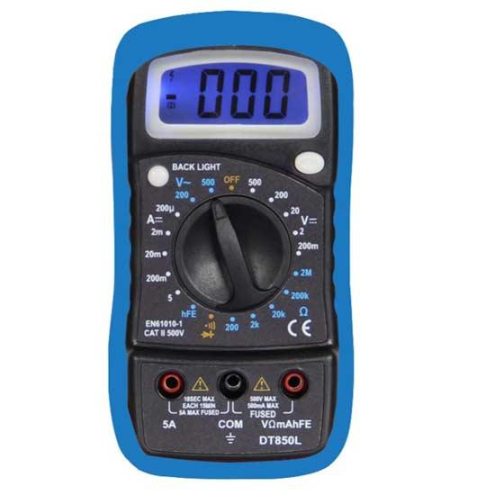Digital Multimeter with Backlight Portable
