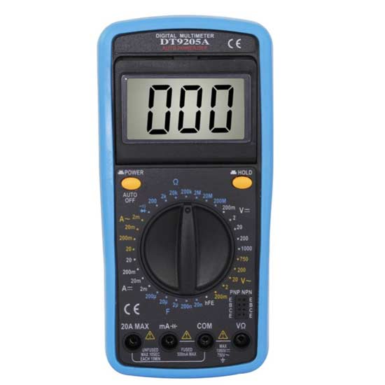 Angle Adjustable Digital Multimeter with buzzer Capacitance test