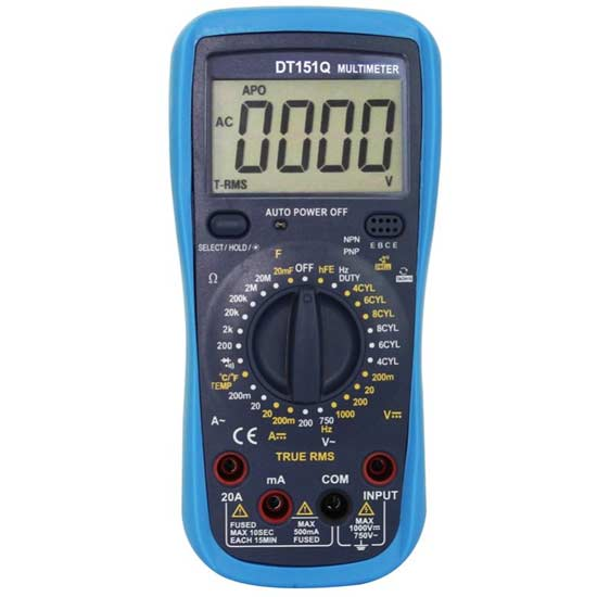 Handheld Automotive Multipurpose Meter