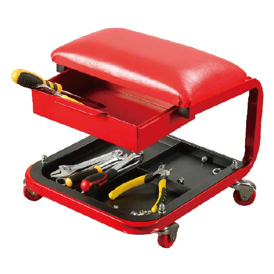 Roller Seat with Tool Drawer