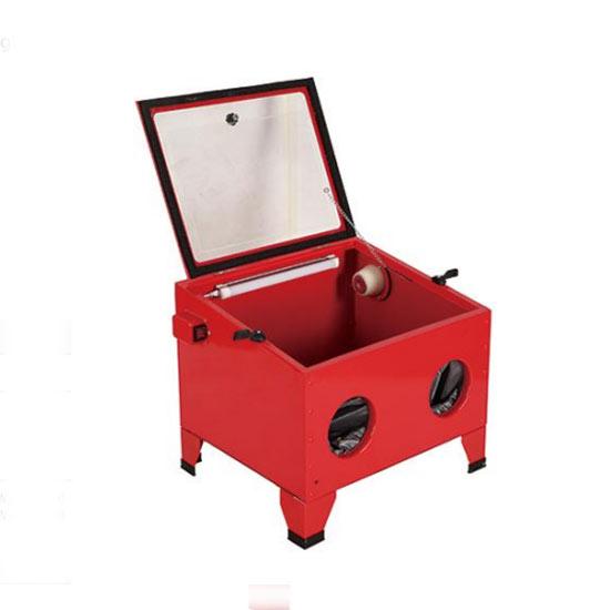 Custom Red Sandblast Cabinet
