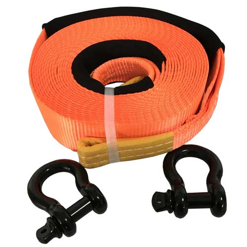 Tow Strap With Shackle