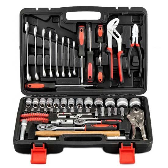 81PCS Combination Socket Wrench Tool Kit