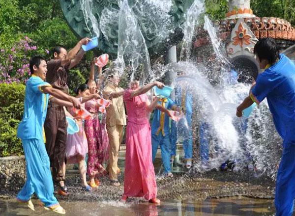 Joyful Songkran Festival!
